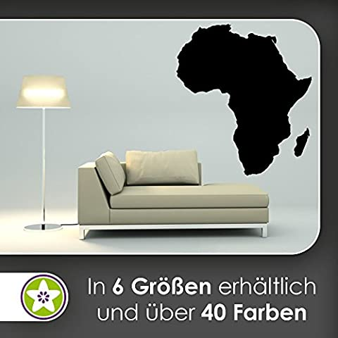 Kiwi Star Country Africa Silhouette Outline Wall Stickers Wall Stickers