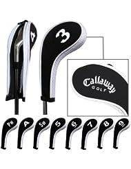 Callaway capuchon de golf avez nuque long zippé 10pcs Noir/blanc MT/CL02