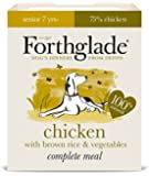 Forthglade Lifestage Dog Food Senior Chicken, Rice and Vegetable 395 g (Pack of 18)