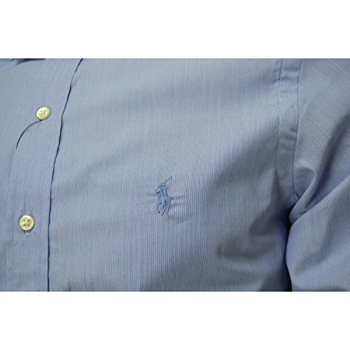 Ralph Lauren Herren Freizeit-Hemd Blau
