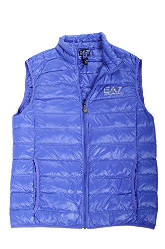 EA7 Emporio Armani Herren Weste - Lightweight Dauenweste Daunenjacke leichte Jacke mit Stehkragen, gesteppte Optik - schwarz, blau, rot, dubkelgrün, dunkelblau, anthrazit Blue