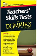 Teacher's Skills Tests For Dummies (For Dummies Series) Paperback
