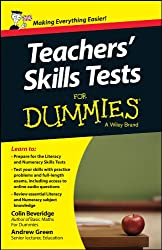 Teacher's Skills Tests For Dummies (For Dummies Series)
