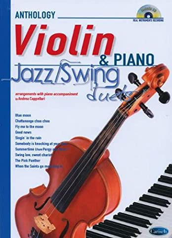 Jazz Swing Duets for Violin & Piano +CD