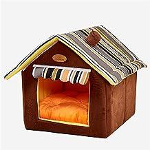 Cama Para Calentar Mascotas - Cama De Felpa Para Dormir Para Gatos Y Perros Pequeños,