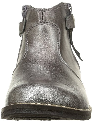 Babybotte Kenza, Boots fille Gris (237 Gris Métallisé)