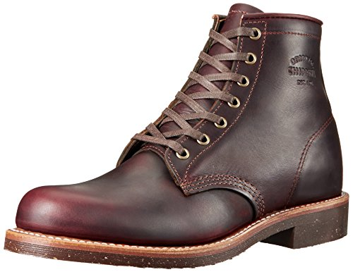 Chippewa Mens 1901M25 Dark Brown Leather Boots 46 EU Chippewa Service Stiefel Männer