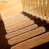 pad CAICOLORFUL Chemische Faser Rutschfester Verschleiß Haustreppen Teppich Osmanen Wasser Schlafzimmer Schrittmatte Holzleiter Fuß Innen Teppich (Farbe : 5)