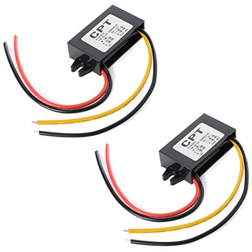 XCSOURCE 2PCS convertitore DC-DC Car Power 12