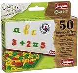 JeuJura - Loisir Créatif - Comme à l'école - 50 lettres, chiffres et signess aimantés...