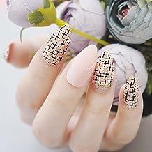 jovono Stiletto postizas uñas postizas para las mujeres y las niñas en fiesta