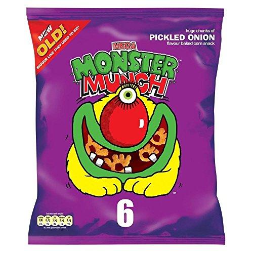 Wanderer Mega Monster Munch - Eingelegte Zwiebel (6X25G)