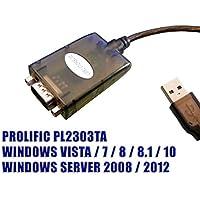 Kalea-Informatique© - Cavo convertitore USB verso Serie RS-232 DB9, chipset