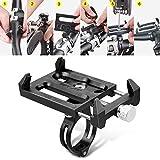Yunso Handyhalterung Fahrrad Techole Anti-Shake Verstellbar Motorrad Handyhalter Universal 360° Drehbare Halterung