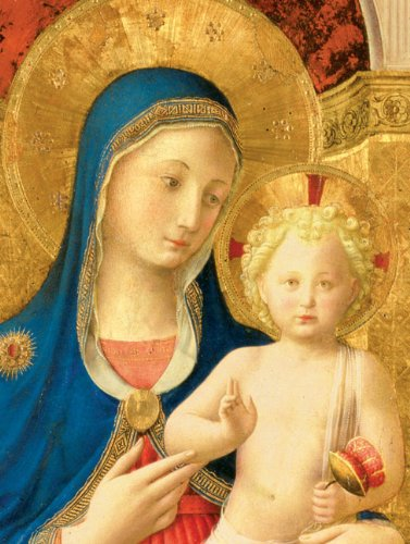 Mother and Child Perugia Altarpiece Holiday Notecards (Karte Von Perugia)