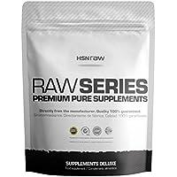 HSN RAW - Ácido Aspártico - Estimulador de la Testosterona de Primera Calidad para Promover el Desarrollo de Masa Muscular, Fuerza y Potencia - En Polvo - 500g