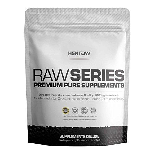 HSN Sports Raw Series Creatina Excell Monohydrate de Creatina Micronizada con el Sello Creapure - 500 gr