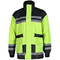 Texpeed Hi-Vis Elasticated Waterproof Over Jacket