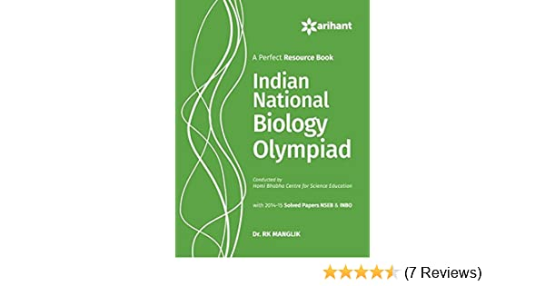 Buy Indian National Biology Olympiad Book Online At Low Prices In India |  Indian National Biology Olympiad Reviews U0026 Ratings   Amazon.in