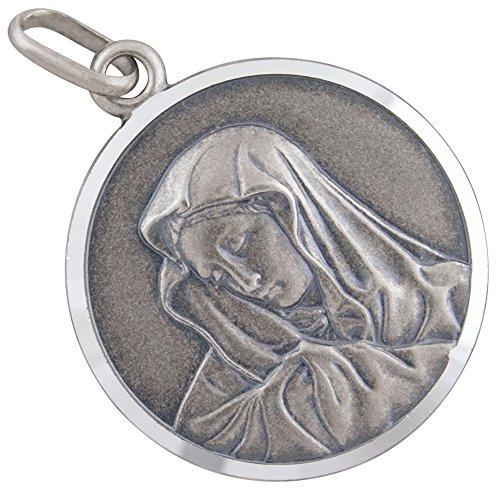AFP Anhänger Madonna Heilige Maria 925 Sterling Silber AS-506