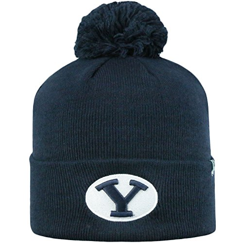 Top of the World Offizielle NCAA Cuffed Knit Tow Pom Beanie, Cuffed Knit - Pom Pom Cuffed Beanie