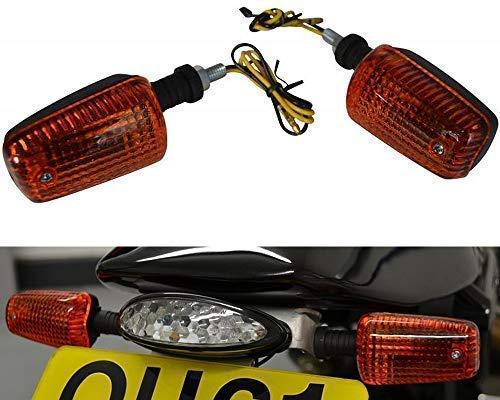 Blinker für Motorräder Quads Atvs & Trikes - 21W Glühbirne mit Bernstein Linse