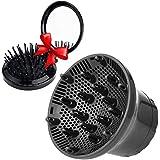 Difusor universal ajustable Anself para secador de pelo. Cabezal difusor adecuado para secadores de 4 a 7 cm. Ideal para cabe