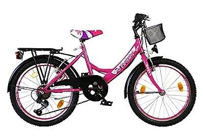 20 ZOLL Kinder Fahrrad Kinderfahrrad Cityfahrrad City Bike Rad Mädchenfahrrad Bike VOLTAGE LADY PINK