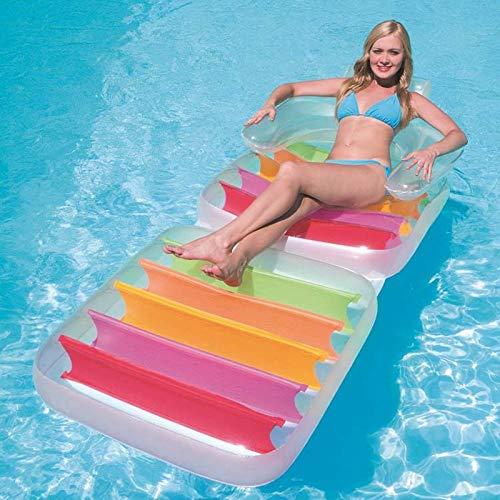 ZXCVBW Klappsessel / Mehrzweck Aufblasbare Liege Wasser Stühle Raft Matratze Für Seen Und Pools 2019 (Inflatables Halloween 2019)