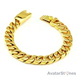 Avn Jewellers 22Ct Gold And Rhodium Plat...