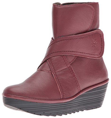 FLY London Rada654fly, Bottes Classiques Femme Rouge