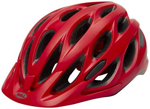 BELL Tracker Helm in Mattrot/Schwarz