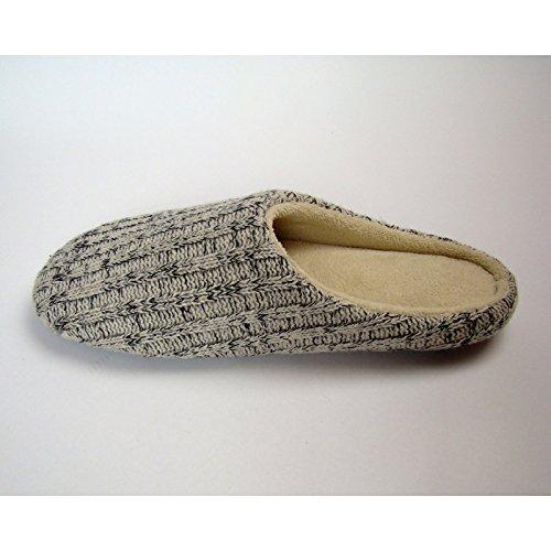ZHLONG Home interni antiscivolo uomini caldo casual Pantofole , 2 , large