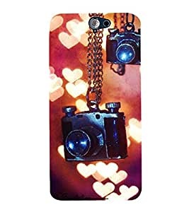 Vizagbeats Hanging Cameras Back Case Cover for HTC One A9