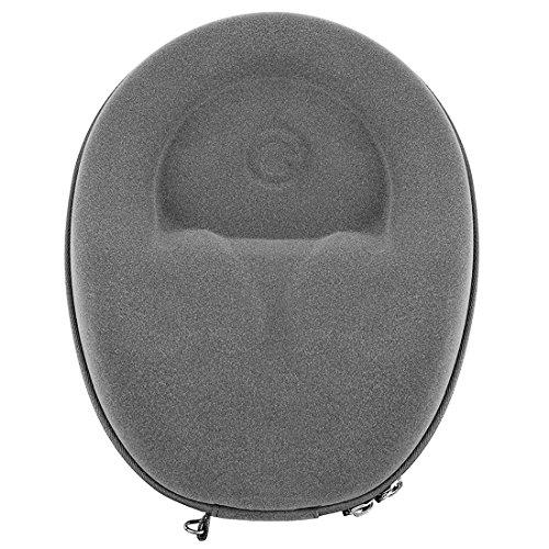 Ultraskin compact cuffie custodia per beats by dre studio3, studio 2.0, audeze el-8lcd-2lcd-3lcd-4lcd-x lcd-xc/hard shell auricolare auricolare valigetta/borsa da viaggio (grigio scuro)