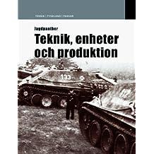Jagdpanther: Teknik, Enheter Och Operationer (Tech / Germany)