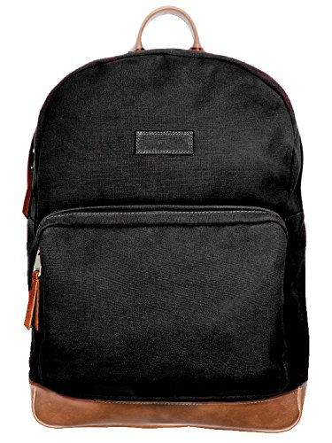 Will's Vegan Shoes Large Backpack Black