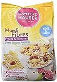 Gayelord Hauser Dieteticien Muesli aux Fibres sans sucres ajoutes 375 g - Lot de 3