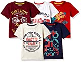 #1: Cherokee Boys' T-Shirt(Pack of 5)