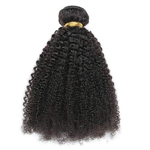 Kleines Volume Real Hair, Haarvorhang Afro Kinky 8 Inch-1PCS ()