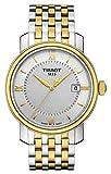 Tissot Bridgeport bicolore mens orologio T0974102203800