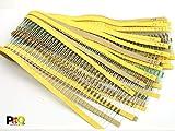 POPESQ® - 1000 Stk./ pcs. x Widerstand / Resistor SET 0.25W (10 33 82 100 120 150 180 220 270 330 470 560 680 1K 1K5 2K 2K2 4K7 10K 100K ) #A1857