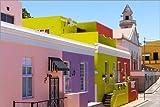 Posterlounge Forex-Platte 150 x 100 cm: historisches Viertel, Signal Hill, Cape Town, Distrikt, muslimisch von Catharina Lux/Mauritius Images