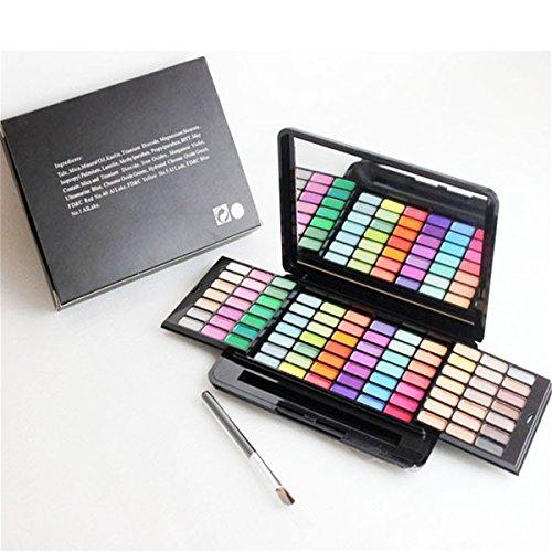 BrilliantDay 84 Couleurs Palette Fard à Paupières Blush Gloss à lèvres Correcteur Kit Maquillage Beauté Set