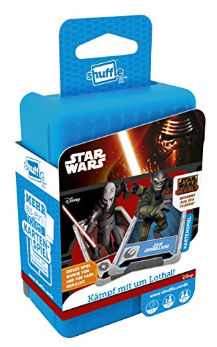 ASS Altenburger 22502712 - Shuffle - Star Wars Rebels, Kartenspiel