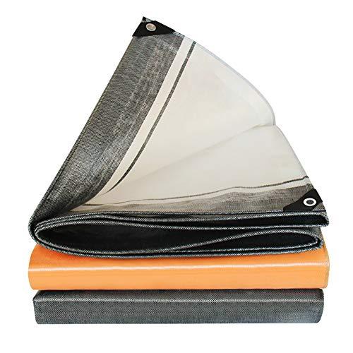 Bâches, Imperméable Pliable avec Oeillets ,Feuille De Tissage Haute Densité Anti-UV - 220g / (Taille : 11×13m)