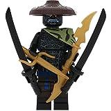 LEGO Ninjago Minifigur Jungle/Dschungel Garmadon 4-armig mit 4 GALAXYARMS Schwertern