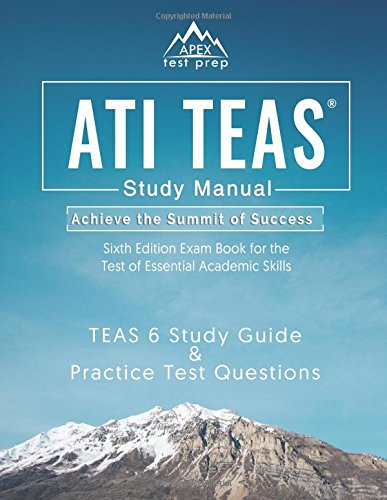 Pdf download ati teas study manual sixth edition teas 6 test study pdf download ati teas study manual sixth edition teas 6 test study guide practice test questions 6th edition exam book for the test of essential academic fandeluxe Gallery