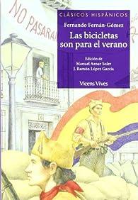 Las Bicicletas Son Para El... N/c  - 9788431637392 par Fernando Fernán-Gómez