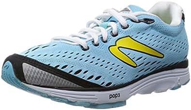 NEWTON Aha Scarpa da Running Donna, Blu/Nero, 35.5